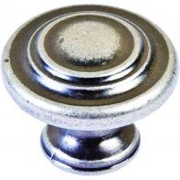 "Knob ""Stratford"", round, 34mm diameter"