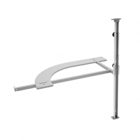 Sige swing corner pole (RH) for installation of 191413 upper pull-out basket, each