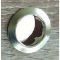 BMB rosette 18mm diameter, nickel plated, ea.