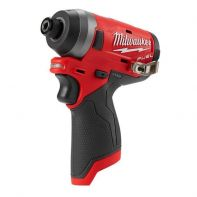 "Milwaukee M12 1/4""Brushless Impact Driver- Skin Only"