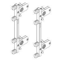 Topaz Slimline Drawer System quick-dowel front brackets H167/199 (set)